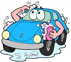 Car washing is Great exercise and fun
