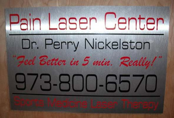 pain laser center dr. Perry Nickelston