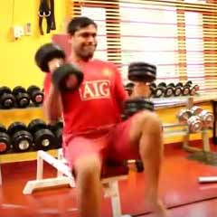 Seated Shoulder Press - Rest.Pause - DC Training - Second Cycle - Moez Aryan