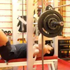 Smith Chest Press - DC Training - Rest Pause